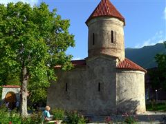 02Azerbaijan_Sheki - Kish Church - Caucasian Albanian temple from 4 century AD_2008P1260754
