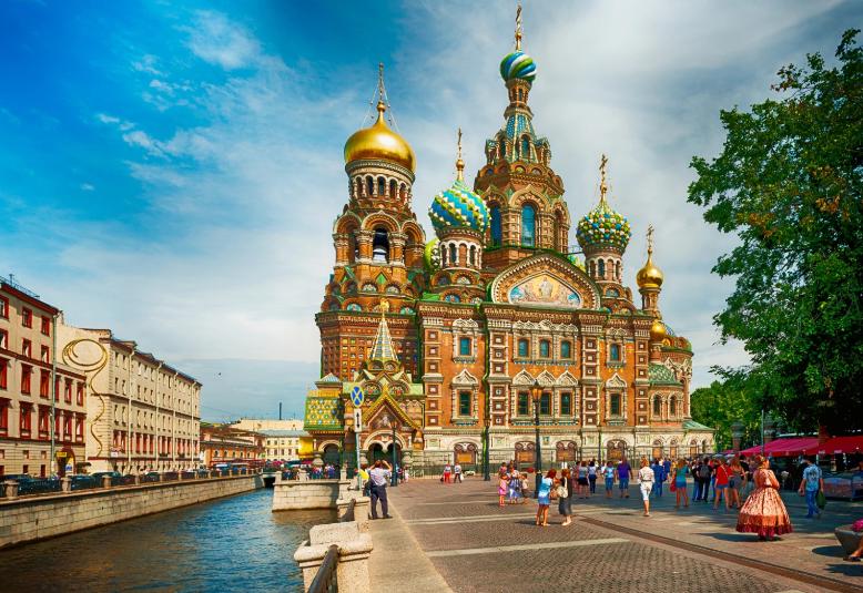 Tour Du Lịch Nga Moscow - Saint Petersburg (KH 30/9 từ Sài Gòn)