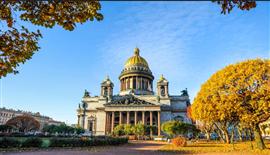 Tour Du Lịch Nga Tháng 9 Moscow - Saint Petersburg (KH từ Sài Gòn)