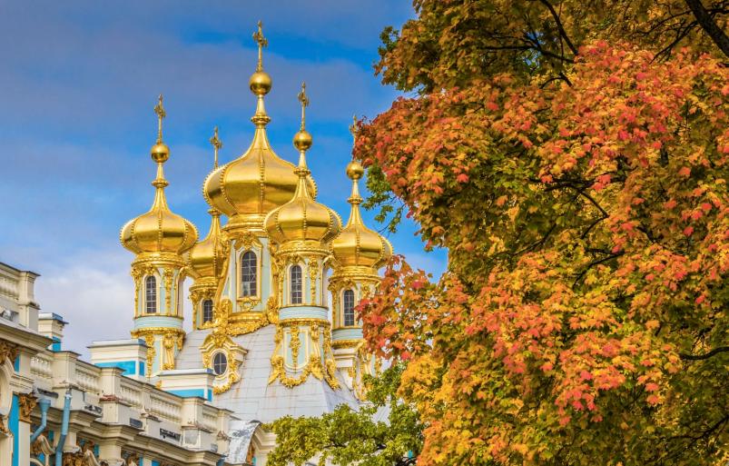 Tour Du Lịch Nga Moscow - Saint Petersburg (KH 2/10 từ Sài Gòn)
