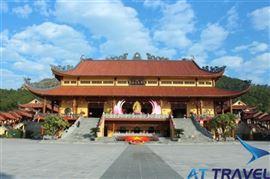 Tour Hà Nội - Chùa Ba Vàng - Chùa Ngọa Vân