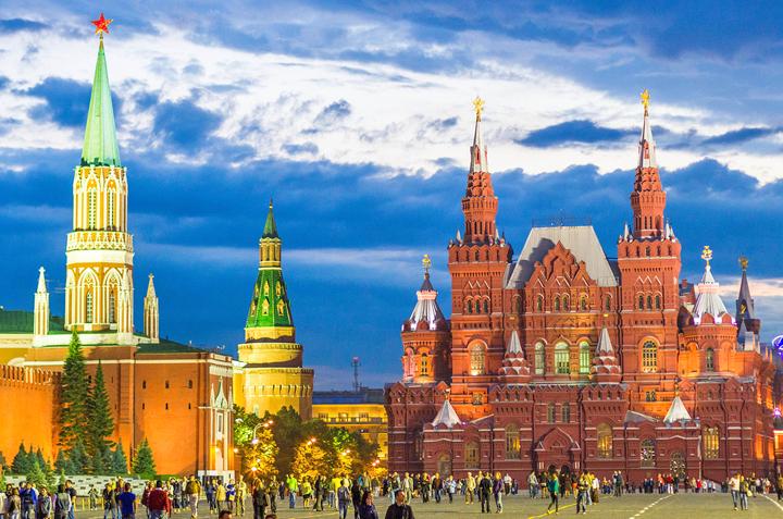 Tour Du Lịch Nga Moscow - Saint Petersburg (KH 30/9 từ Hà Nội)
