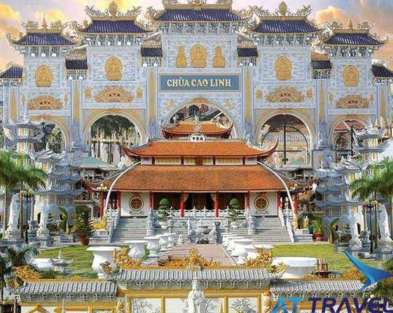 Tour Chùa Cao Linh - Bạch Đằng Giang - Đền Bà Đế - Chùa Hang