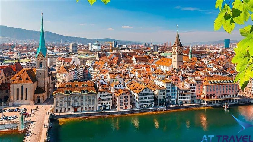 Tour du lịch Châu Âu: Pháp - Thụy Sỹ - Ý